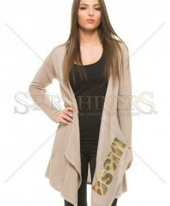 Cardigan MissQ Beautiful Growth Brown - Sacouri -