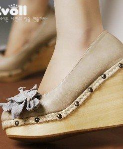 Ch374 Incaltaminte - Pantofi cu Platforma - Pantofi cu platforma - Incaltaminte > Incaltaminte Femei > Pantofi cu platforma