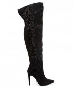 Cizme Elegans Negre 2 - Cizme - Cizme