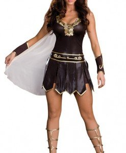 D136 Costum tematic razboinica - gladiatoare - Basme si Legende - Haine > Haine Femei > Costume Tematice > Basme si Legende