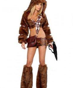 D244 Costum Star Wars Chewbacca - Altele - Haine > Haine Femei > Costume Tematice > Altele