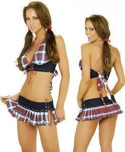 D3 Costum sexy scolarita - Scolarita - Haine > Haine Femei > Costume Tematice > Scolarita
