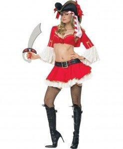 D65 - Costum Carnaval - Corsar - Pirat - Haine > Haine Femei > Costume Tematice > Pirat