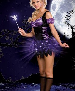 E142 Costum Halloween zana - Basme si Legende - Haine > Haine Femei > Costume Tematice > Basme si Legende