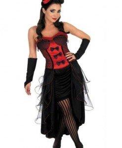 E144 Costum tematic Halloween vampir - Vrajitoare - Vampir - Haine > Haine Femei > Costume Tematice > Vrajitoare - Vampir