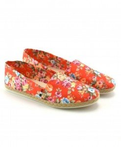 Espadrile Ugly Rosii - Casual - Casual