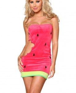 F112-5 Costum tematic pepene verde - Altele - Haine > Haine Femei > Costume Tematice > Altele