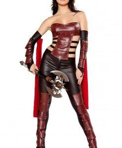 F319 Costum Halloween gladiator - Basme si Legende - Haine > Haine Femei > Costume Tematice > Basme si Legende