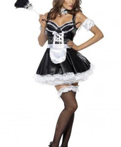 F323 Costum Halloween menajera sexy - Menajera - Haine > Haine Femei > Costume Tematice > Menajera