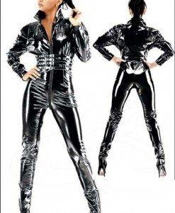 G14 Salopeta lunga din latex - Salopete - Haine > Haine Femei > Costume latex si PVC > Salopete