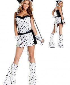 G208 Costum tematic dalmatian - Animalute - Haine > Haine Femei > Costume Tematice > Animalute