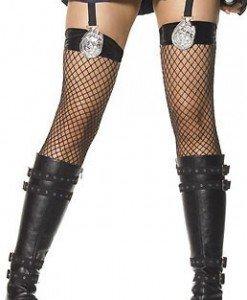 G56 Ciorapi Halloween politista - Ciorapi dama - Haine > Haine Femei > Ciorapi si manusi > Ciorapi dama