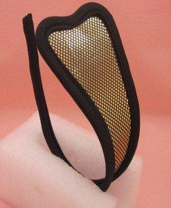GS239 Chilot invizibil c-string cu model auriu - Invizibili C-String - Haine > Haine Femei > Lenjerie intima > Chilot dama > Invizibili C-String