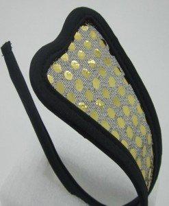 GS248-7 Chilot invizibil c-string cu paiete aurii - Invizibili C-String - Haine > Haine Femei > Lenjerie intima > Chilot dama > Invizibili C-String