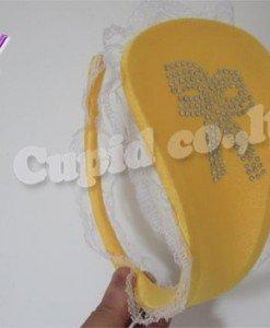 GS287-9 Chilot invizibil c-string cu dantela pe lateral si model fundita - Invizibili C-String - Haine > Haine Femei > Lenjerie intima > Chilot dama > Invizibili C-String