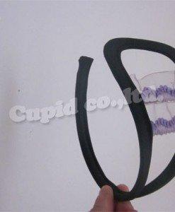 GS312 Chilot invizibil c-string sexy cu decupaj si volanase in fata - Invizibili C-String - Haine > Haine Femei > Lenjerie intima > Chilot dama > Invizibili C-String