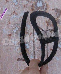 GS313-1 Chilot invizibil c-string sexy cu decupaj si volanase in fata - Invizibili C-String - Haine > Haine Femei > Lenjerie intima > Chilot dama > Invizibili C-String