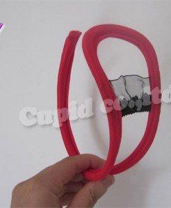 GS313-55 Chilot invizibil c-string sexy cu decupaj si volanase in fata - Invizibili C-String - Haine > Haine Femei > Lenjerie intima > Chilot dama > Invizibili C-String