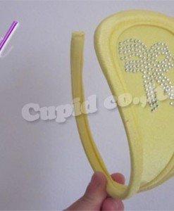 GS323-9 Chilot invizibil c-string cu model fundita - Invizibili C-String - Haine > Haine Femei > Lenjerie intima > Chilot dama > Invizibili C-String