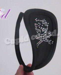 GS325-1 Chilot invizibil c-string cu model cap de mort - Invizibili C-String - Haine > Haine Femei > Lenjerie intima > Chilot dama > Invizibili C-String