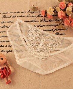GS355-2 Chilot normal sexy cu fluture brodat la spate - Chilot dama - Haine > Haine Femei > Lenjerie intima > Chilot dama