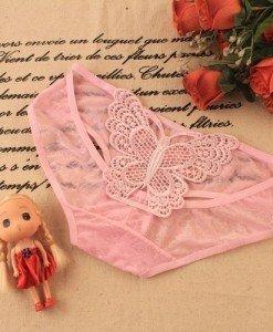 GS355-5 Chilot normal sexy cu fluture brodat la spate - Chilot dama - Haine > Haine Femei > Lenjerie intima > Chilot dama