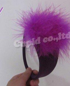 GS360-11 Chilot invizibil c-string cu puf mov in fata - Invizibili C-String - Haine > Haine Femei > Lenjerie intima > Chilot dama > Invizibili C-String