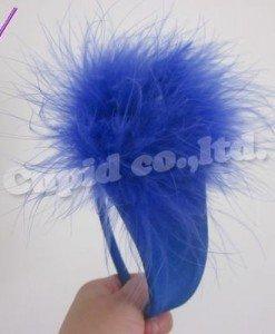 GS362-4 Chilot invizibil c-string albastru cu puf in fata - Invizibili C-String - Haine > Haine Femei > Lenjerie intima > Chilot dama > Invizibili C-String