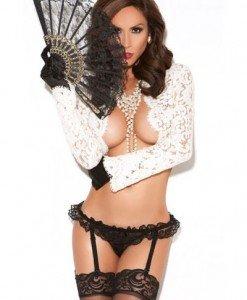 GS45 Chilot sexy cu jartiere reglabile - Chilot dama - Haine > Haine Femei > Lenjerie intima > Chilot dama