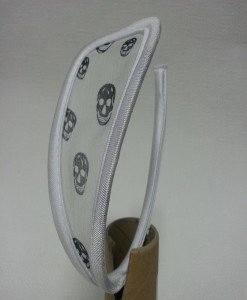 GS648-2 Chilot invizibil c-string cu model cap de mort - Invizibili C-String - Haine > Haine Femei > Lenjerie intima > Chilot dama > Invizibili C-String