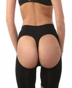 GS788-1 Pantaloni scurti decupati la spate