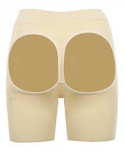 GS788-15 Pantaloni scurti decupati la spate