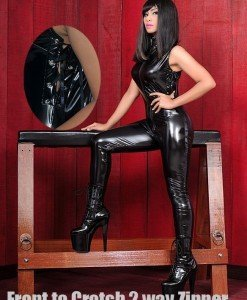 H112- Salopeta Latex PVC - Costume latex si PVC - Haine > Haine Femei > Costume latex si PVC