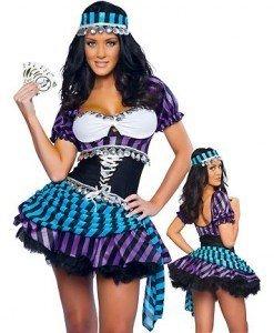 H135 Costum Halloween gipsy