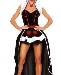H141 Costum tematic regina - Dama de Pica - Basme si Legende - Haine > Haine Femei > Costume Tematice > Basme si Legende