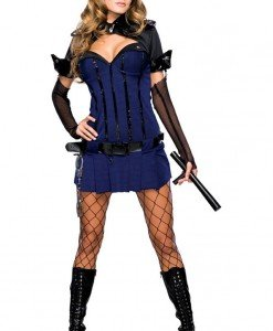 J17 Costum Halloween politista - Politista - Gangster - Haine > Haine Femei > Costume Tematice > Politista - Gangster