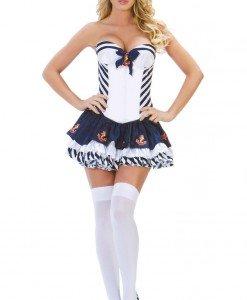 J229 Costum tematic marinar - Armata - Marinar - Haine > Haine Femei > Costume Tematice > Armata - Marinar