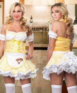 J305 Costum tematic bucatareasa sexi - Altele - Haine > Haine Femei > Costume Tematice > Altele