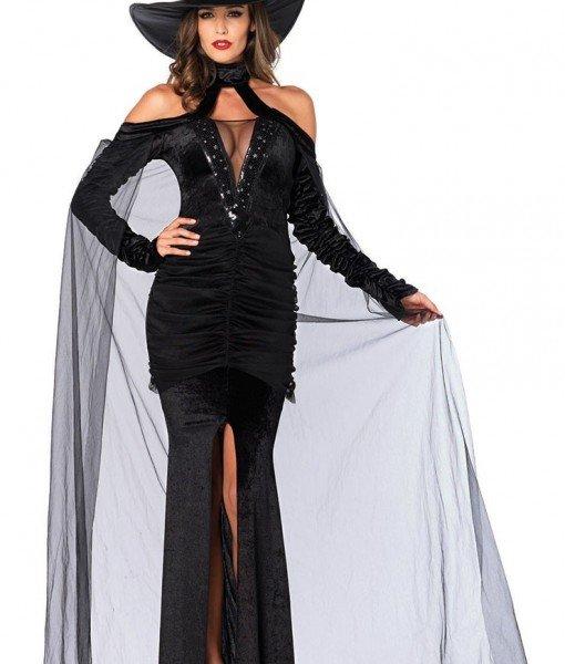 J317-1 Costum tematic Halloween vampir – Vrajitoare – Vampir – Haine > Haine Femei > Costume Tematice > Vrajitoare – Vampir