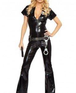 J46 Costum Halloween Politista - Politista - Gangster - Haine > Haine Femei > Costume Tematice > Politista - Gangster