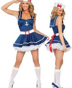J49 Costum tematic marinar sexi - Armata - Marinar - Haine > Haine Femei > Costume Tematice > Armata - Marinar