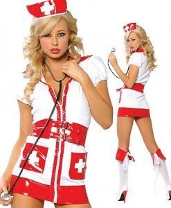 J55 Costum tematic asistenta medicala - Asistenta Medicala - Haine > Haine Femei > Costume Tematice > Asistenta Medicala