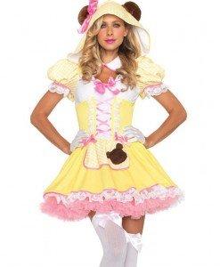 K163 Costum carnaval ursulet - Animalute - Haine > Haine Femei > Costume Tematice > Animalute