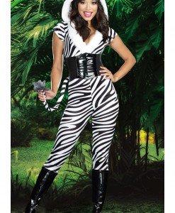 K185 Costum tematic carnaval zebra - Animalute - Haine > Haine Femei > Costume Tematice > Animalute