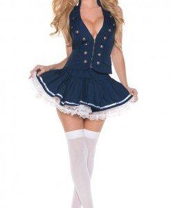 K222 Costum tematic marinar - Armata - Marinar - Haine > Haine Femei > Costume Tematice > Armata - Marinar