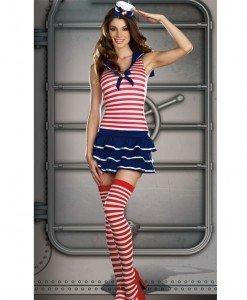 K229 Costum Tematic Marinar - Armata - Marinar - Haine > Haine Femei > Costume Tematice > Armata - Marinar
