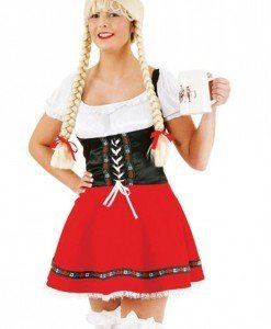 K259 Costum tematic Halloween chelnerita - Chelnerita - Haine > Haine Femei > Costume Tematice > Chelnerita