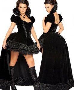 K47 Costum tematic Halloween regina - Basme si Legende - Haine > Haine Femei > Costume Tematice > Basme si Legende