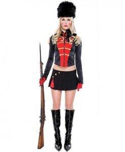 L102 Costum tematic armata - soldat garda britanica - Armata - Marinar - Haine > Haine Femei > Costume Tematice > Armata - Marinar