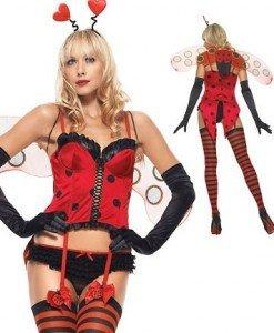 L107 Costum tematic buburuza - Animalute - Haine > Haine Femei > Costume Tematice > Animalute